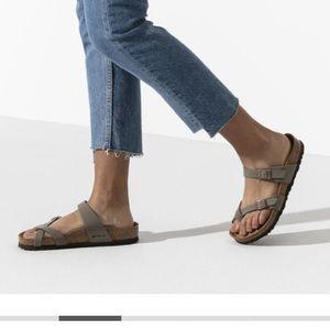 Birkenstock Mayari Sandals Stone Size 40 9 9.5